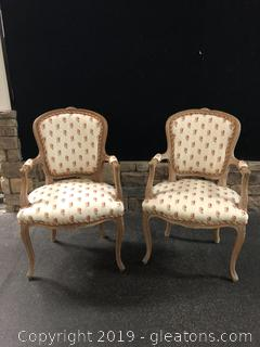 Elegant Pair Of Armchairs