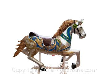 Decorative Caro Usel Horse