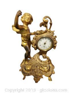 Vtg. Beautiful Mercedes Art Nouveau Clock