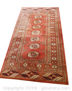 100% Wool Hand Knotted Rug