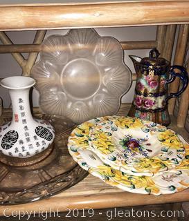 Rare Tea Pot And Good Lot Of Vintage