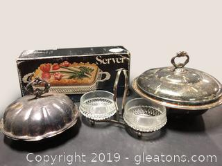 Nice Lot Of Vintage Silver