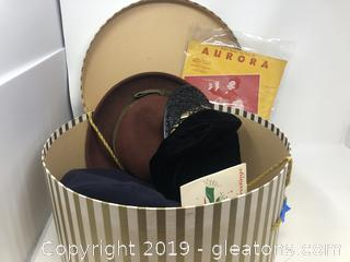 Vintage Hat & Music Lot