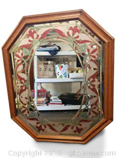 Large Mid Centry Beautiful Wall Mirror