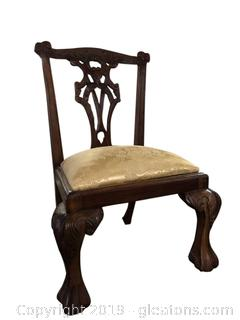 Childs Mahogany King Louie IV Chair
