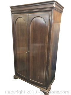 Nice Mahogany Armoire Made Of Mahogany Solid Wood