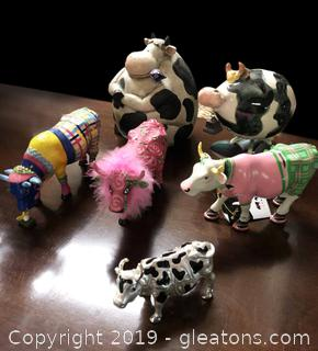 Lot Of Prada Cows