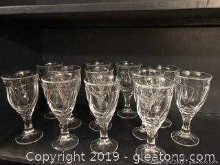 Set Of Elegant Wine Glass