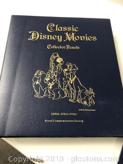 Disney Classics Movie Panel Stamps