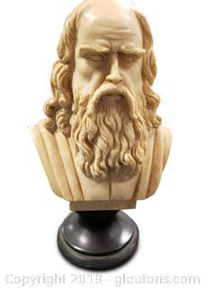 Leonardo Mini Bust Statue