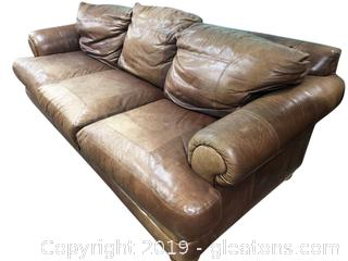 Leather Couch From Distinction Of NC-(B)