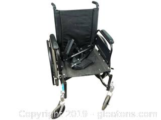 Wheel Chair Has Attachable Feet Rests Sunmark