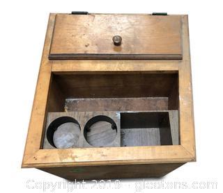 Unique Storage Box Or End Table