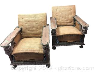 Pair Of Antique Chairs
