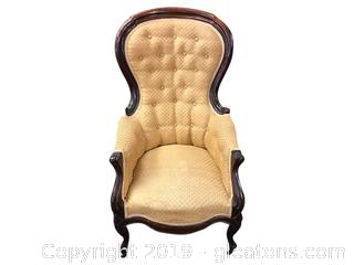 Small Victorian Antique Parlor Chair