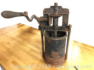Vintage Industrial Piece.