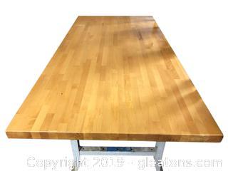 #2 Blond Laminate Work Table