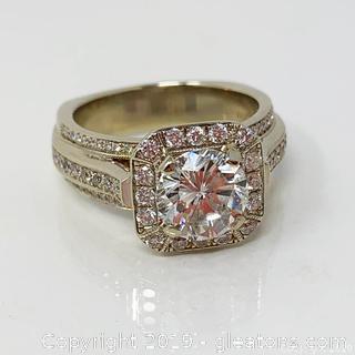 $18,000 Appraised Diamond Engagement Ring