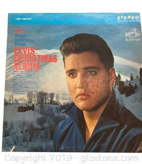 Rare Elvis Presley Vinyl Record