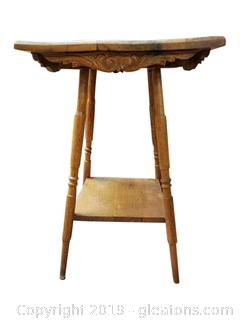 Small Antique Wooden Side Table