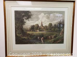 Large Framed Stratford On Aron Wall Art