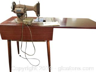 Vtg. Kehmore Cabinet Sewing Machine