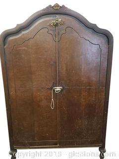 Vtg. Antique Armoire
