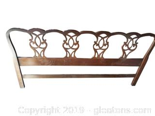 Vtg. King Size Head Board