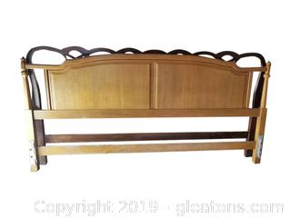 King Size Vtg. Head Board