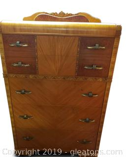 Matching Vtg. Chest Of Drawers