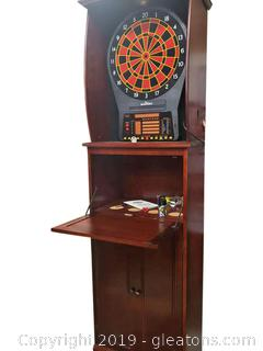 Commercial Arachid Electronic Dart Game Cabinet