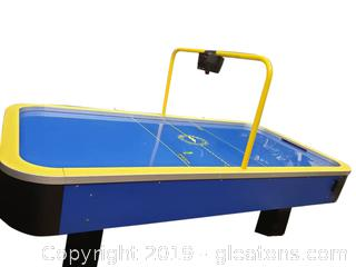 Black Lighting Pro Speed Air Hockey Table