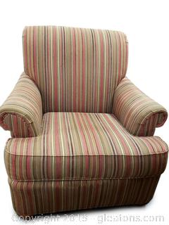 """Huntington"" Armed Decorative Accent Chair"