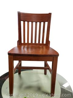 Very Heavy Wooden Chair