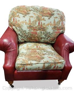 Castered Club Chair