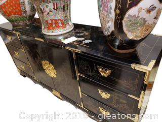 Beautiful Large Japanese Triple Dresser