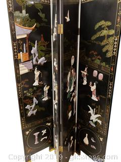 Beautiful Vintage Oriental Chinese Room Divider