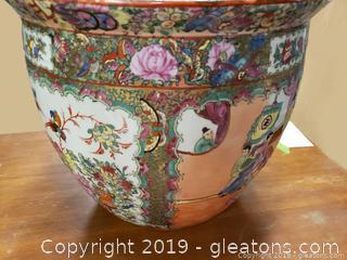 Vintage Chinese Fish Bowl
