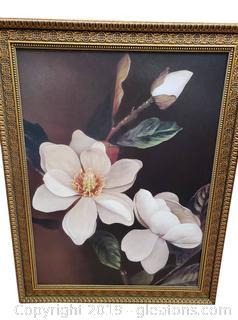 "Cedar Creek Collection ""Kirklands"" Magnolia Framed Print"