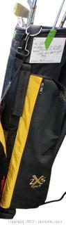 Wilson Golf Clubs Signature Brand And 2x5 Sport Golf Bag