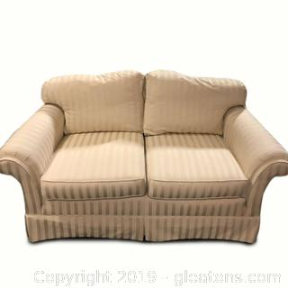 Nice Upholstered Marshal Fields Love Seat