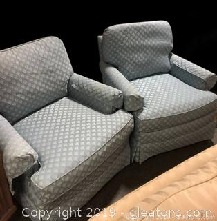Pair of Plunkett Accent Chairs