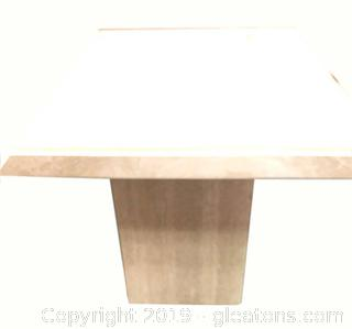 Small Marble Mid Centry Modern Italian End Table