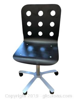 Metal And Plastic Resin Office Chair