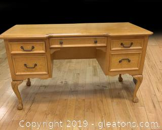 High End French Country Ball And Claw Desk