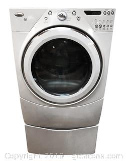 Large Capacity Whirlpool Front Loading Dryer