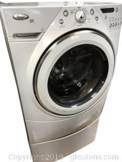 Large Capacity Whirlpool Front Load Washer