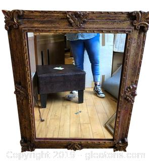 Beautiful Hand Carved Wall Hanging Mirror