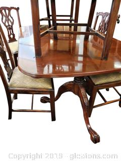 Absolutely Lovely Pedestal Dining Table