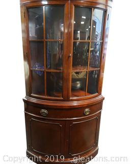 Drexel Corner Cabinet